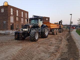 Case CVX 175 met veenhuis... Omgeving Zwolle