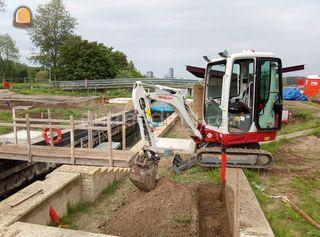Takeuchi TB216 Omgeving Zwolle