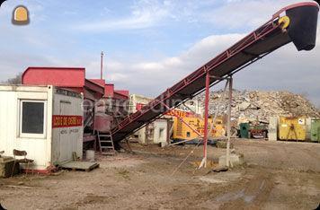 leveringen vanuit breekwerf en betoncentrale
