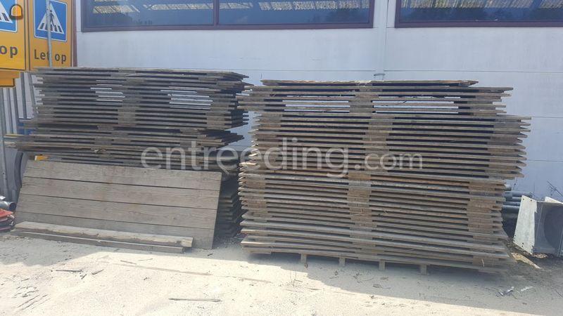 houten loopschotten