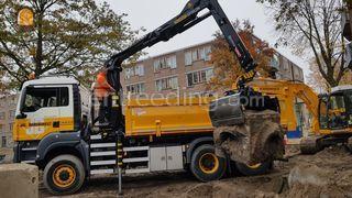 MAN Kraanwagens 6x6 Omgeving Rotterdam