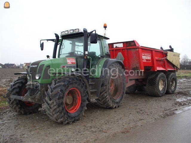 Tractor + kipper fendt + Beco 200
