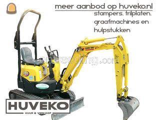 Yanmar VIO10 Omgeving Amersfoort