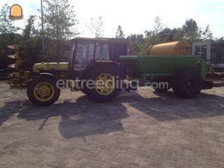 Tractor + bezandingskar Omgeving Amersfoort
