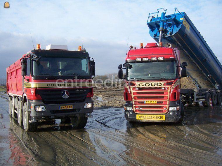 Scania + kiptrailer
