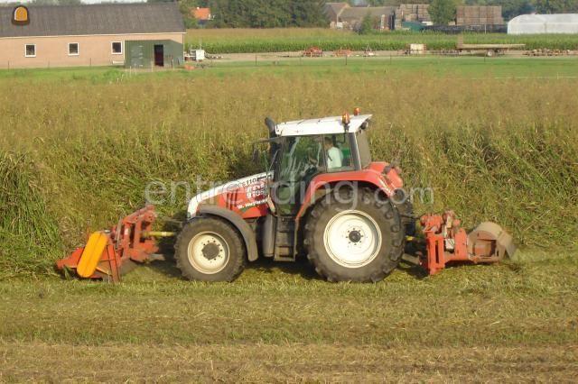 Tractor + klepelmaaier ducker