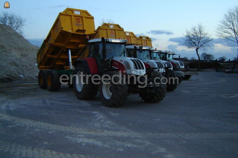 Tractor + kipper alasco pk 3000