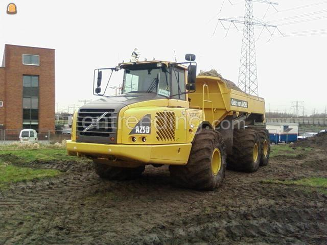 Dumper Volvo A25D