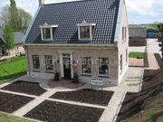 aanleg vakken-tuin met grind