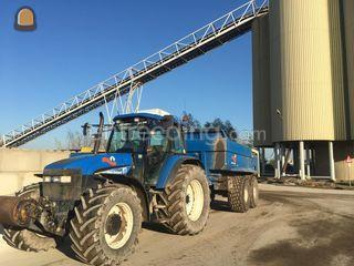 New Holland TM155+Beco 22... Omgeving Lisse