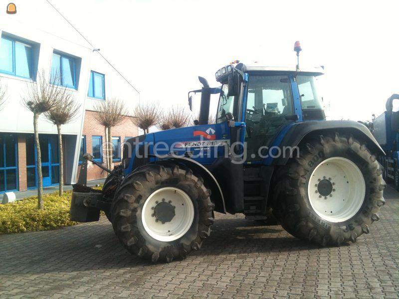Tractor Fendt 818