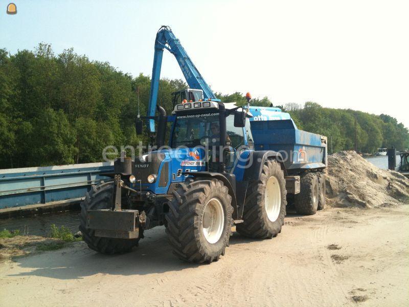 Tractor + kipper Fendt 818+Beco 240
