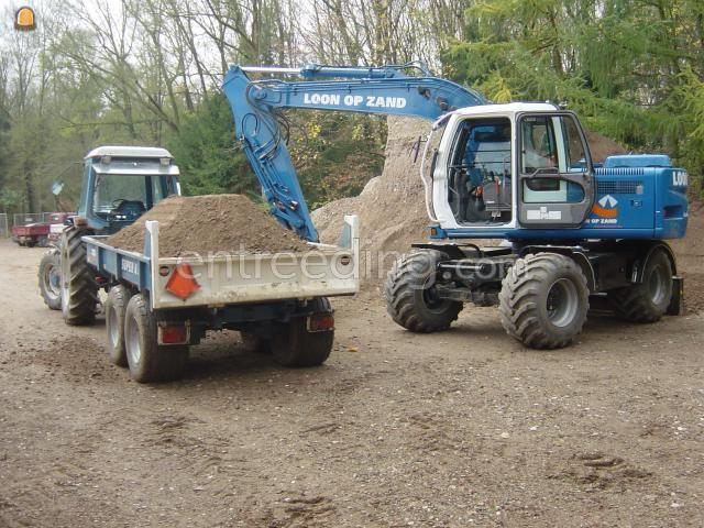 Tractor + kipper Trekker + Beco 450