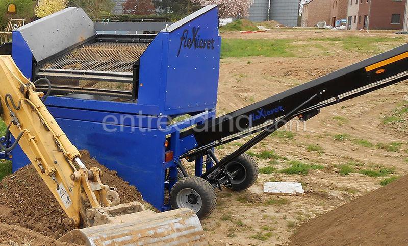 FleXiever Conveyor zeefmachine met bediener