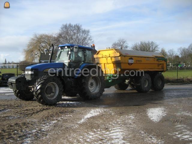 Tractor + kipper New Holland + Beco 12m3