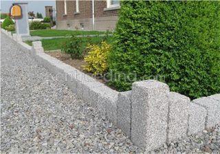 Palissaden natuursteen Omgeving Diest,Herk-de-Stad