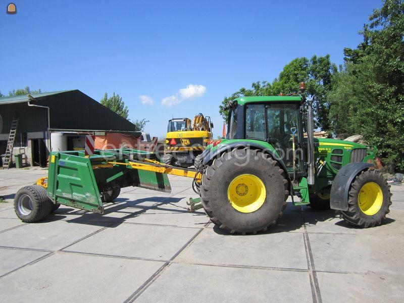 Tractor + kilver John Deere + kilverbak