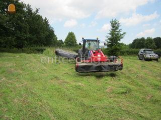 New Holland TNF95 + maaie... Omgeving Zoetermeer