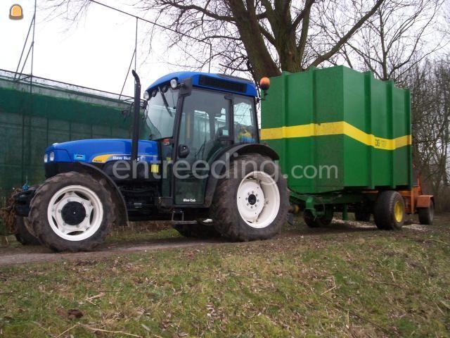 Tractor + houtversnipperaar Van Daele 250 3 stuks