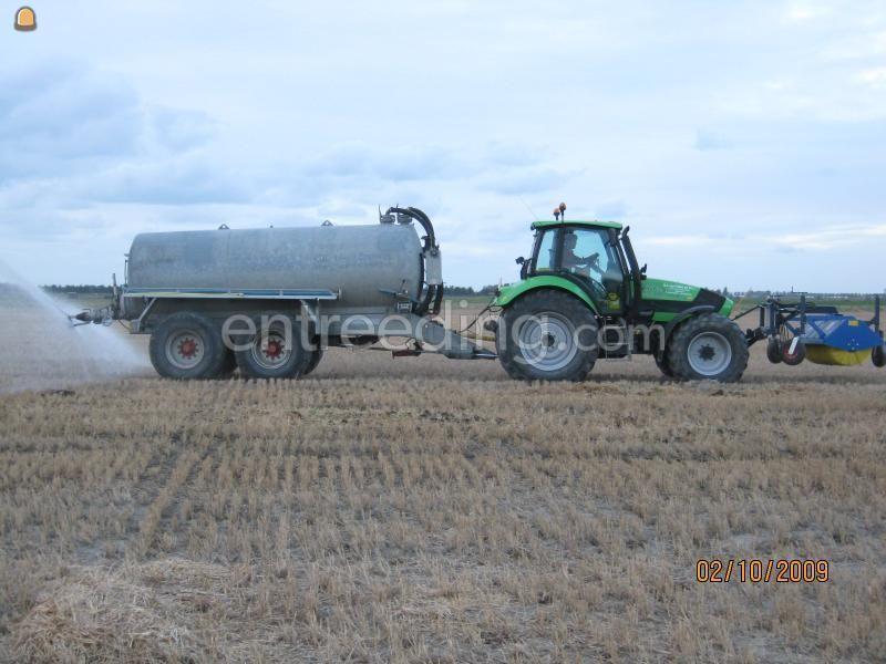 Tractor + waterwagen Peecon TT 10.000 T