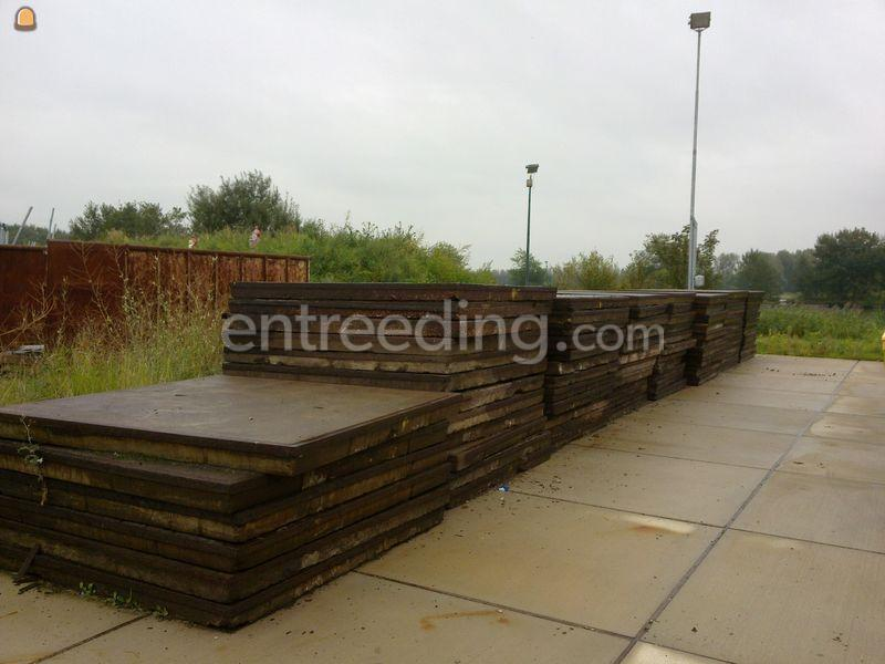 Prefab betonplaten betonplaat 2x2x0.14m