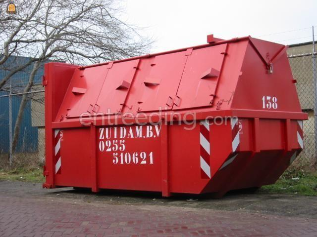 Gesloten containers dichte containers 10 m3