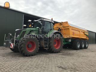 Fendt 824 + Alasco 3 asse... Omgeving Breda