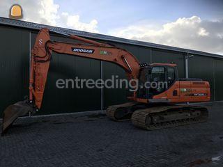 Doosan DX225LC Omgeving Breda