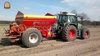 Fendt + Bredal 10 ton Omgeving Breda
