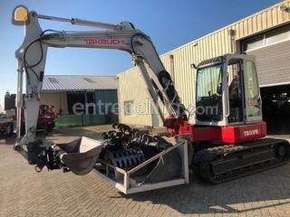 Takeuchi TB80FR Omgeving Breda