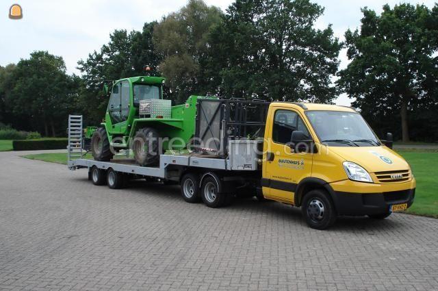 Dieplader / oprijwagen Iveco Daily 40C18