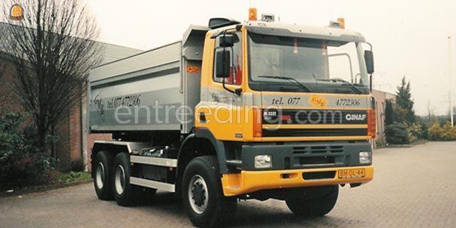 Kippervrachtauto Ginaf 3331 Containerwagens 6x6