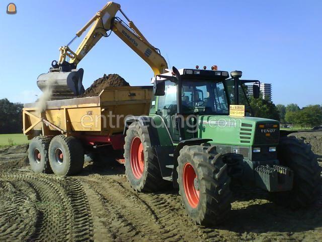 Tractor + kipper Fendt 515C + VGM