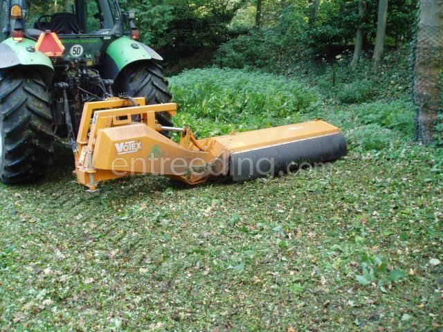 Tractor + klepelmaaier Votex
