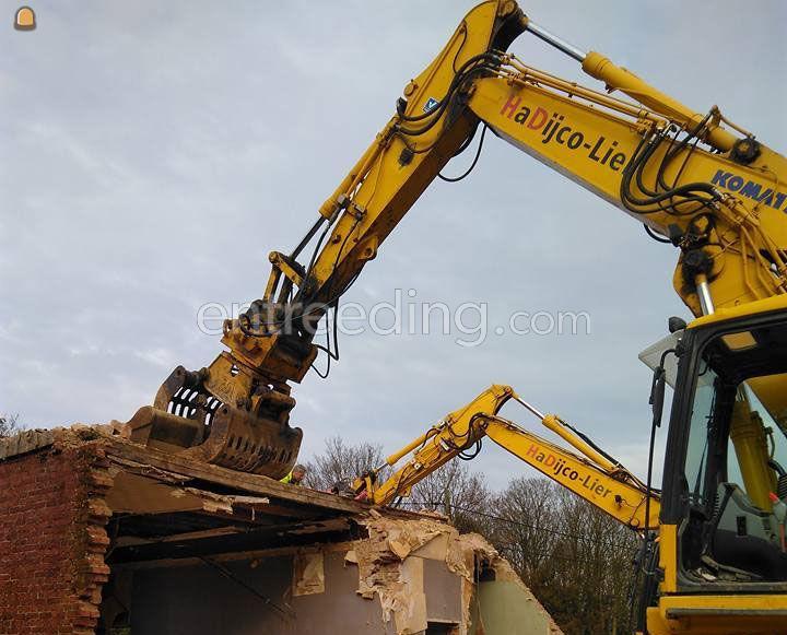 afbraakwerken, sloopwerken, ontmantelingswerken