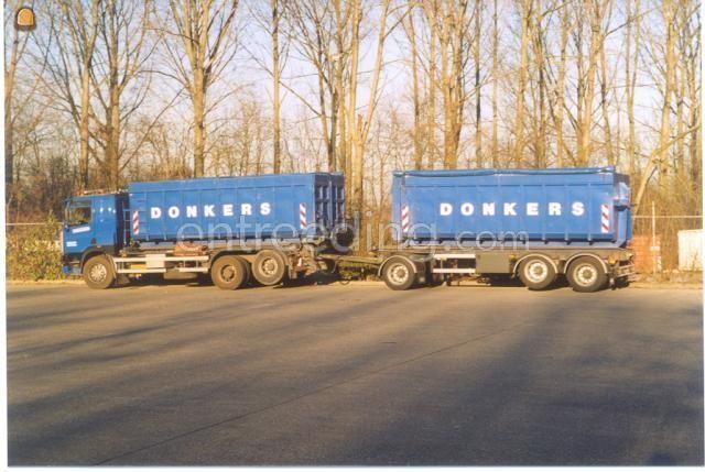 Kippervrachtauto DAF  Containerwagens 6x2
