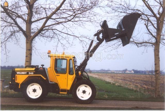 Wiellader / shovel Valmet 343