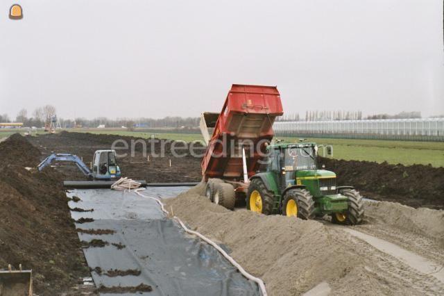 Tractor + kipper JD6820 met Beco 180