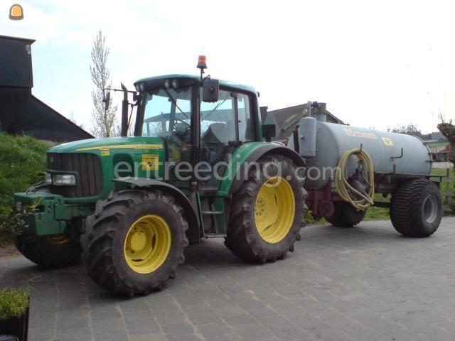 Tractor + waterwagen Miedema