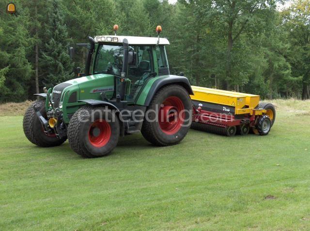 Tractor + zaaimachines fendt met vredo