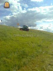 Tractor + schijvenmaaier ... Omgeving Wijk bij Duurstede