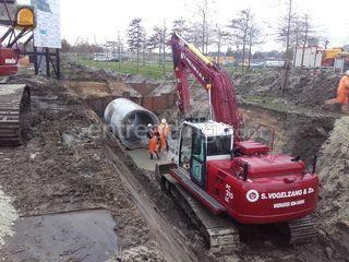 Komatsu PC 210LC-8 Omgeving Groningen West
