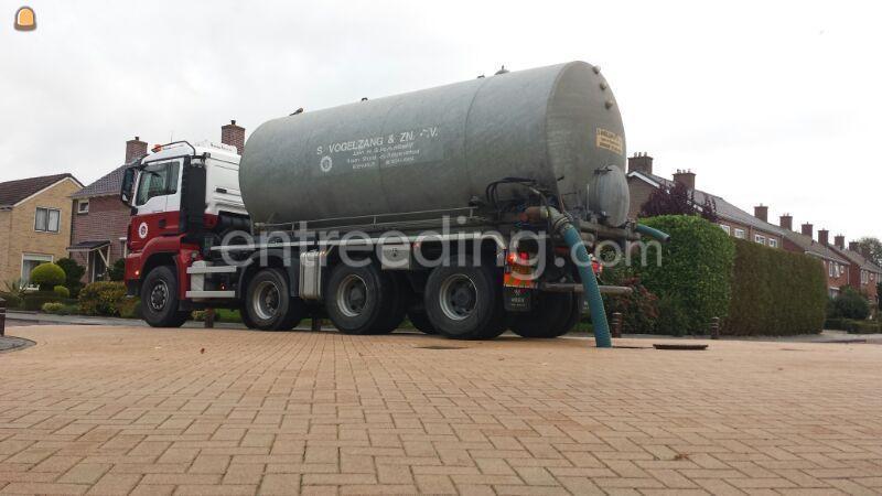 MAN met watertank 25 m3
