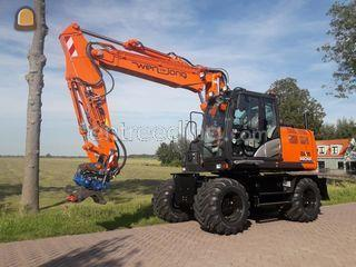 Hitachi ZX140W-6 Omgeving Purmerend