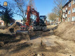 Hitachi ZX 140W-3 Omgeving Purmerend