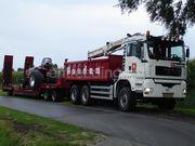 Dieplader / oprijwagen nooteboom 4-asser diep