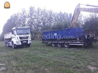 MAN met containersysteem Omgeving Herentals, Turnhout