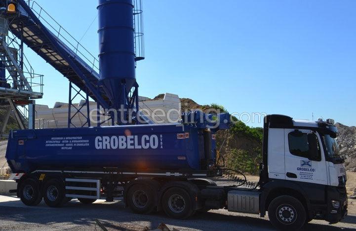 transporteren machines, grondstoffen, overslag, containertransport