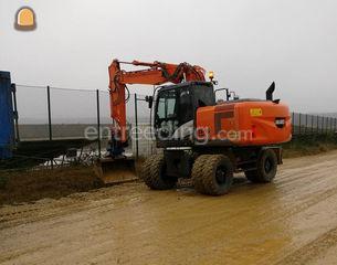 Hitachi Zaxis 170 W Omgeving Genk