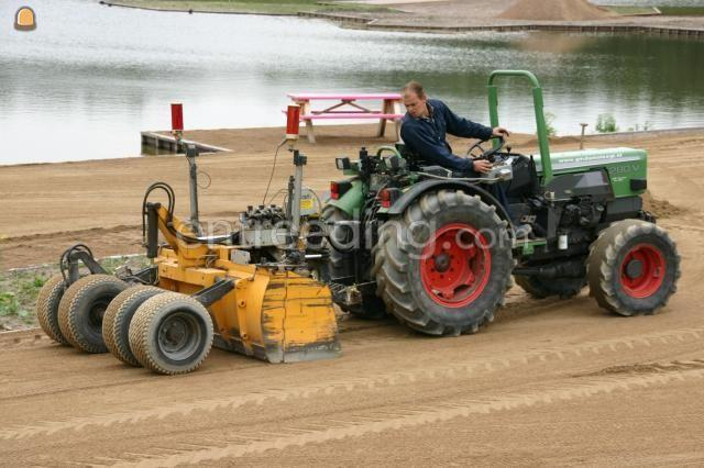 Tractor + kilver fendt 280 v